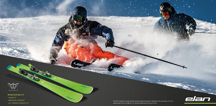 Elan TOP skis von 2017