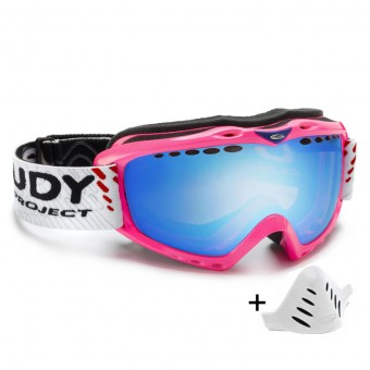 Rudy Project Klonyx Pink Fluo - MLS Blue DL
