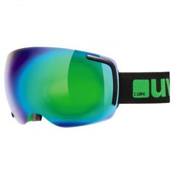 Uvex Big 40 FM Black/Green Goggles