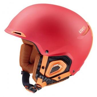 Uvex Jakk+ Helmet Red/Orange-Mat