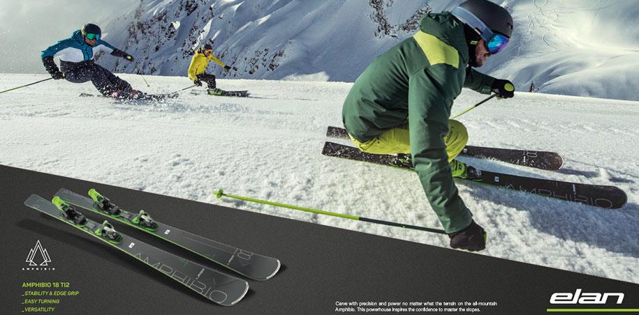 Elan Amphibio 16 Ti2 und Elan Ambpibio 14 Ti top ski 2019 gunstig kaufen